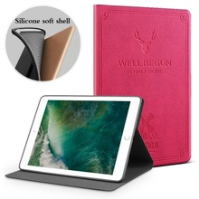 Fashion OEM silicone PU leather Tablet cover case For 2/3/4/5 computer accessory