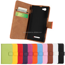 Perfect Fit For Sony Xperia M Case Cover Wallet Leather Case