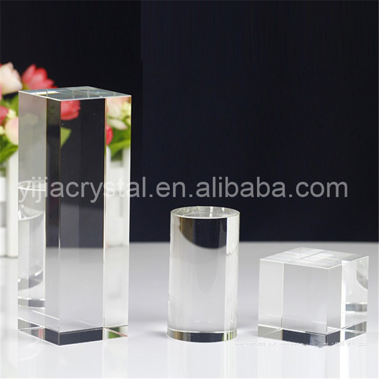 Hot sale souvenir glass blocks/cubes gift 3d laser engrave/K9 Clear Blank Crystal 3D Laser Etched Glass Cube for Engraving