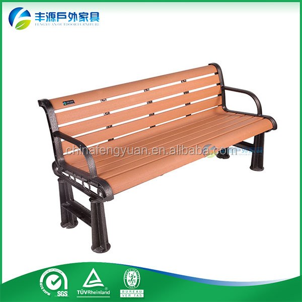 Cheap Chinese Furniture Composite Park Benches Bus Stop Bench