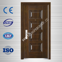 israel cheap security exterior door/ steel security door