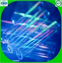 high transparent glass tube