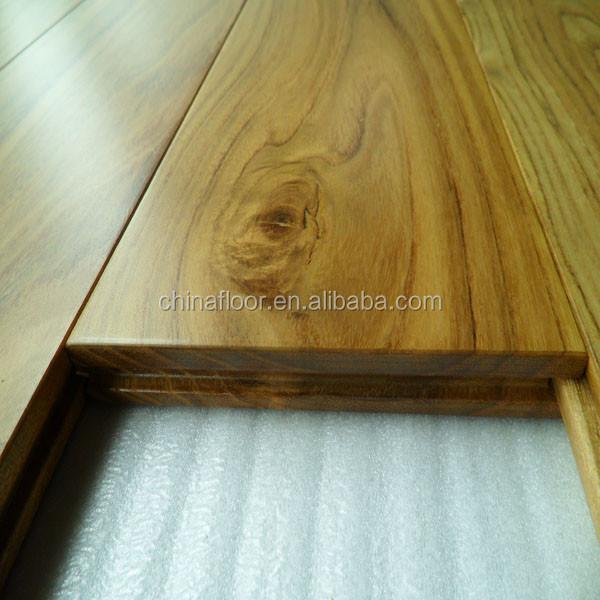foshan stock cheap chinese teak real solid wood flooring. Black Bedroom Furniture Sets. Home Design Ideas