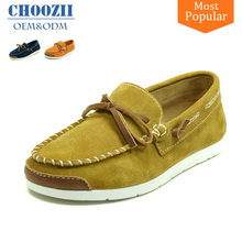 Manufacturer 2017 Suede Leather Fashion Latest Design Boys Casual Shoes