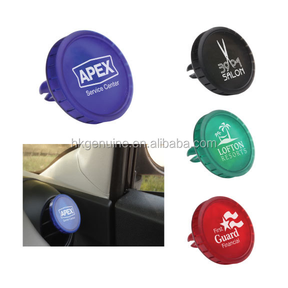 Promotion vent clips perfume car air freshener