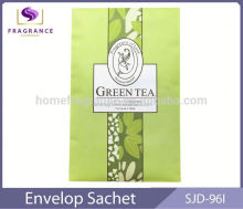 absorbent print Green Tea paper scented sachet