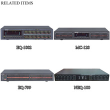 High Standard VFD Display Professional Graphic Equalizer