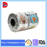 pe plastic mulch film aluminum lidding film for multi-pack cup SGS
