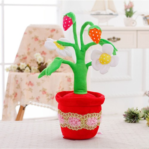 Househould car interior decoration colour custom doll flower plush toy