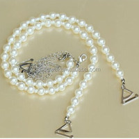 Fashion beautiful beaded bra straps with pearl