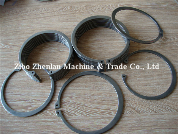 DIN471 carbon steel external type circlip for shaft