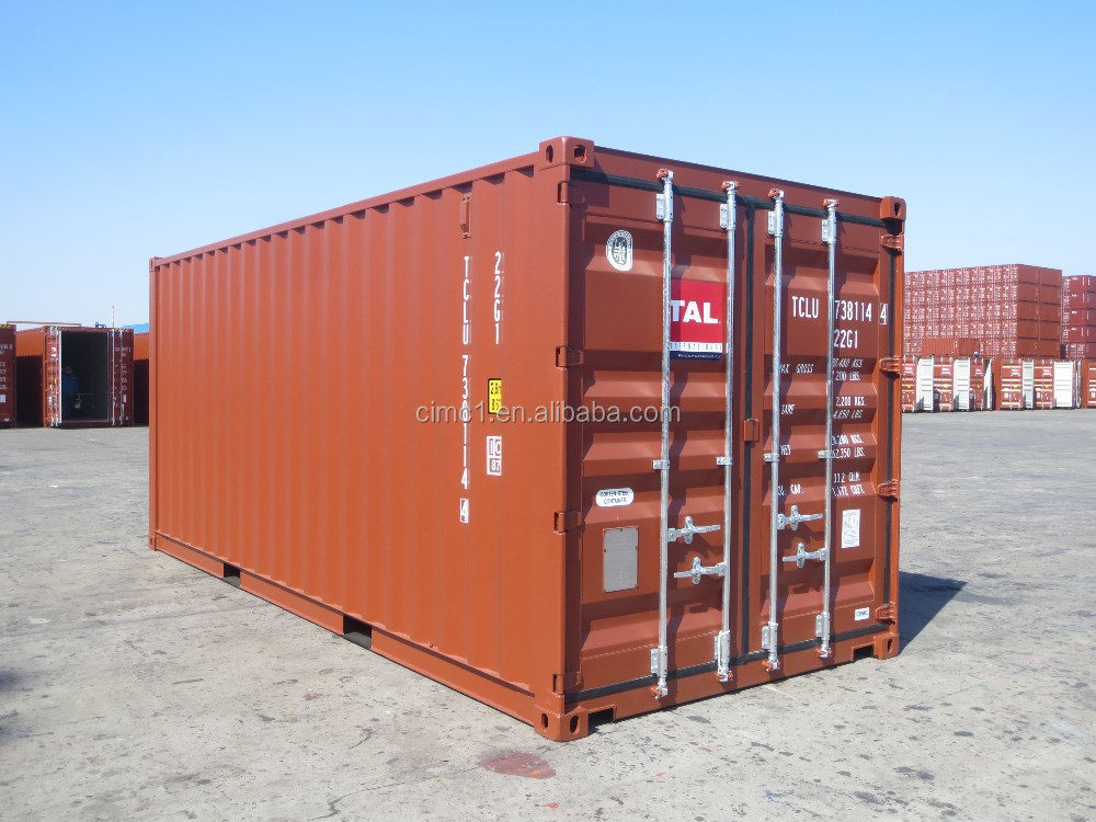 20ft GP CSC Certificated 1496-1 corten steel dry cargo shipping container