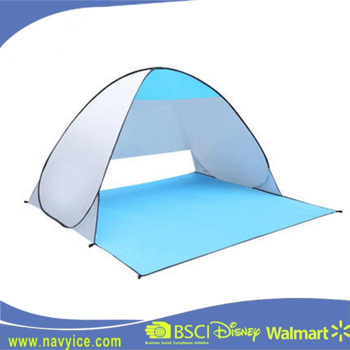2-3 People Auto Pop Up Beach Camping Tents Outdoor Playing Folding Large Wind Proof Beach Tent