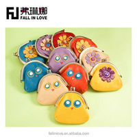 Beautiful wholesale Colorful cute candy color girl small purse coin bag women purse for change with chain