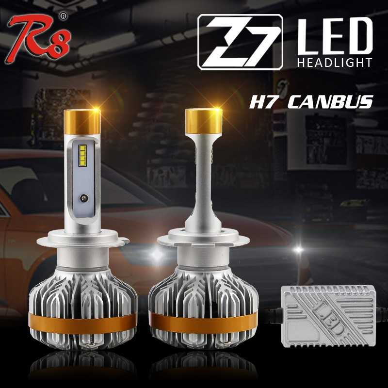 Hot Selling X3 H7 H11 Car LED Headlight Z7 Series 60w 7000lm For Harley LED Headlight