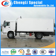 Sinotruck Refrigerated Van Truck with Carrier Refrigerated Van Truck Meat Sea Food Delivery Cooling Van Truck