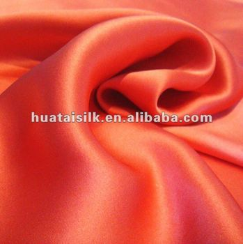 Solid Dyeing 100% Silk Fabric