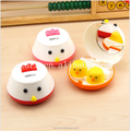 Factory price animal contact lens case/custom made small contact lenses box/plastic contact lens case container