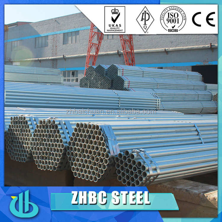 Dubai wholesale market Carbon steel less than 1500MM OD round galvanized pipe