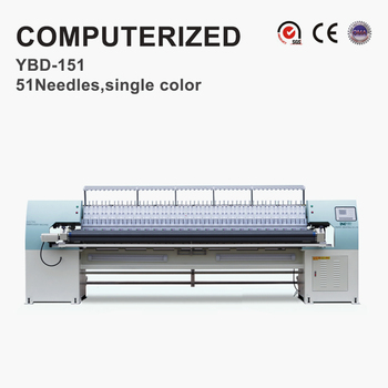YBD151 Roller Computerized New Automatic Embroidery Machines