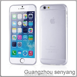 Ultra thin 0.3mm TPU Soft Clear Case for iPhone 6