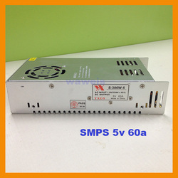 SMPS 300W ac dc Output 5V 60A Switch Model Power Supply