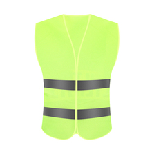 Customizable <strong>safety</strong> reflective vest for roadway, sanitation worker
