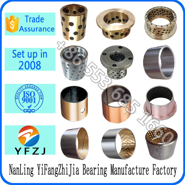 manufacture bearing series taper bush,valve bush,forklift spare parts