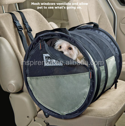 New Pet Animal Car Seat Dog Tube Car Kennel