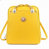 Newest line alibaba online fashion colorful Outdoor China backpack leather