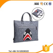 BEST SERVICE, Eco-friendly popular good quality cartoon low price felt laptop sleeve tablet bag