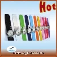Silicone Slap Watches with Various Colors