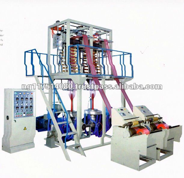 Double Head Nylon / Film Blowing Machine