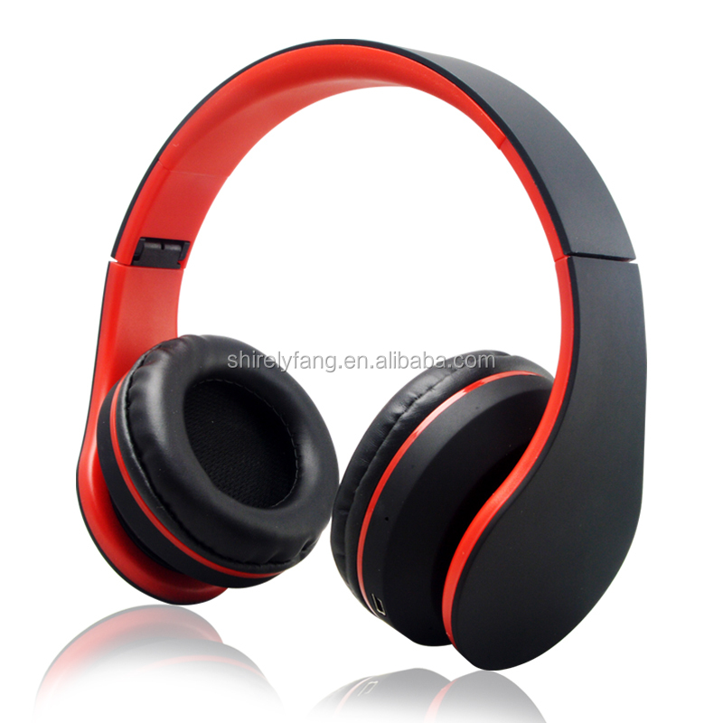 4 in 1 colorful subwoofer MP3 Player wireless bluetooth headset stereo bluetooth headphone with FM Radio