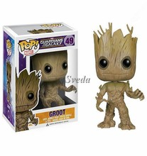 Hot selling POP action figure, Cute Groot POP, PVC figure cheap price