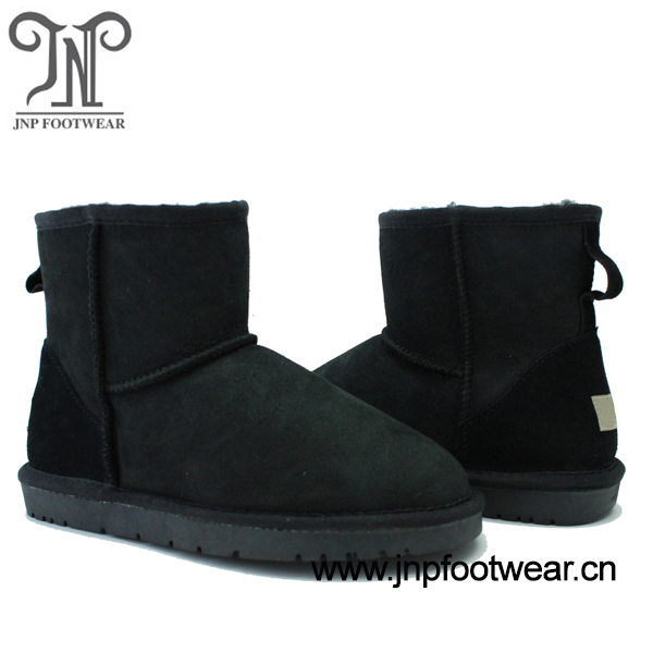 5854 Sheepskin winter ankle height boots