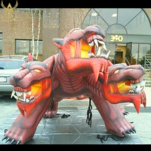 giant three head inflatable monster inflatable red dragon for event decoration advertising inflatable sea dragon