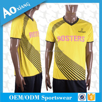 100% microfiber polyester racing polo shirts custom sublimation yellow men t-shirts