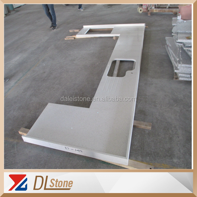 Wholesale White Sparkle Quartz Stone Countertop