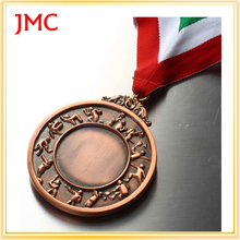 Hot selling new medals and trophies with ribbon