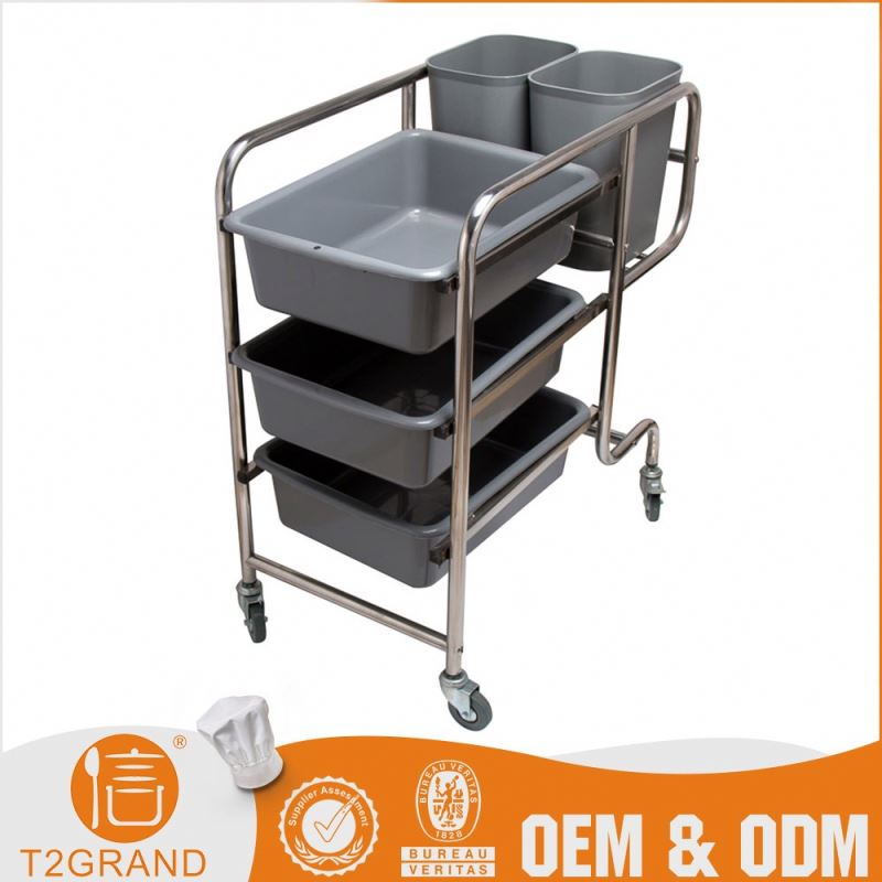 Brand New Direct Price Customized Multinational Cleaning Cart Bucket Trolley