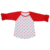 Little Girl's Kids Infant Poly-Cotton 3/4 Sleeve Raglan 2-9 Years