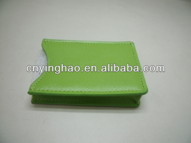 Most popular leather Poker holder from yinghao leather company