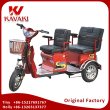Cheap Factory Price 3 Wheel Adult Electric Passenger Tricycle Two Seats Motor Tricycle