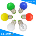 home holiday led lights 3watts
