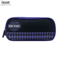 600D polyester branded pencil case for school