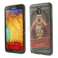 Union Jack Flag Leather Skin TPU Cover For Samsung Galaxy Note 3 Lite N750