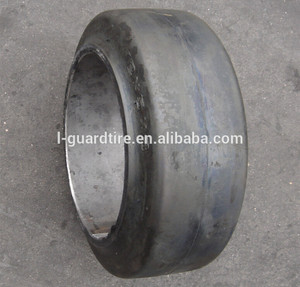 Press on Forklift Solid Tires 20X8X16 Solid Tyre