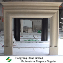 Honed Australian sandstone premium style Fireplace mantle
