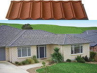 hot sale sheet roofing stone coated roof tile, sand coated metal roofing sheet building material in nigeria